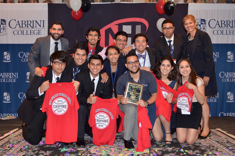 NE CWS students at Cabrini College