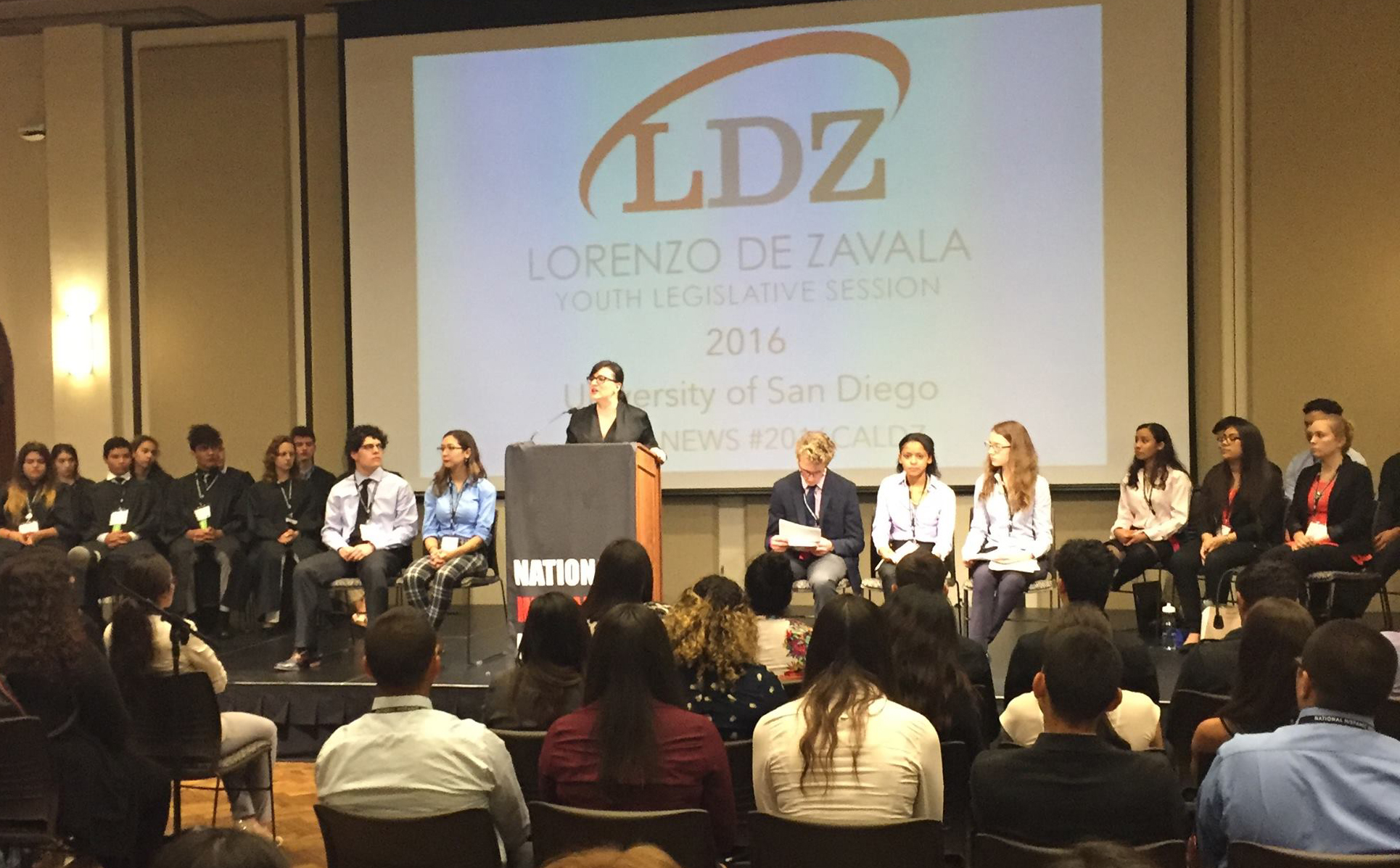 Olivia Traveiso opens the California LDZ session.
