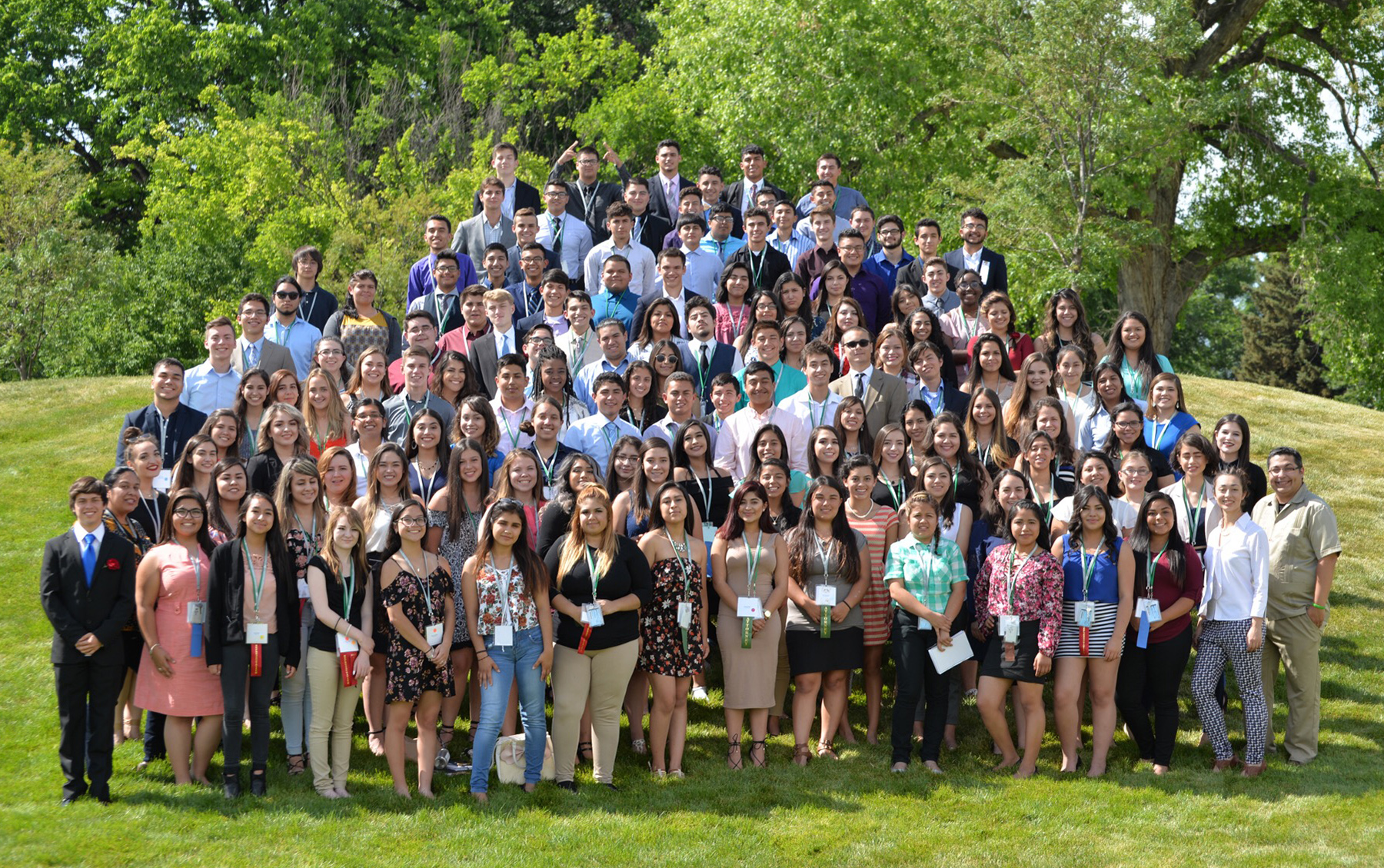 2017 Colorado LDZ student group photo