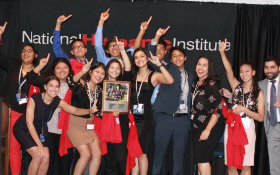 2017 NECWS College Competition winning team
