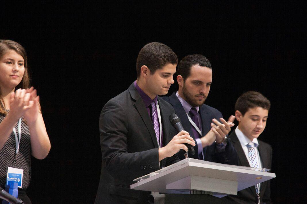 Students open the 2017 LDZ Las Americas legislative session