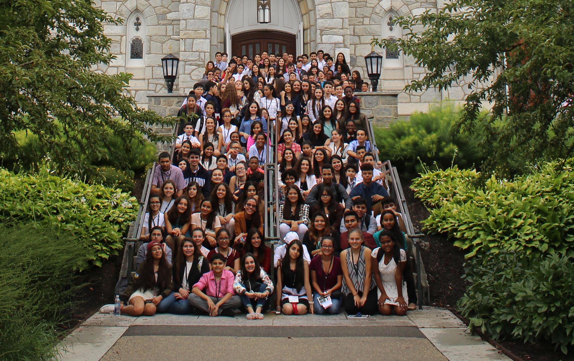 2017 Northeast Great Debate students at Villanova University