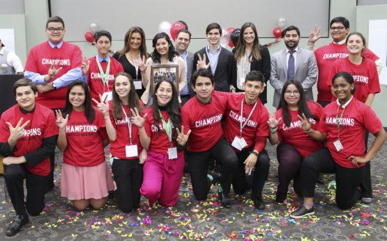 Texas CWS's winning students representing Vanderbilt University