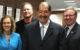 Lilleane Cavanaugh, Director Ohio Latino Affairs Ron Tulley, UF Dean College of Liberal Arts Ernesto Nieto, President and Founder NHI Darin Fields, UF VP Academic Affairs