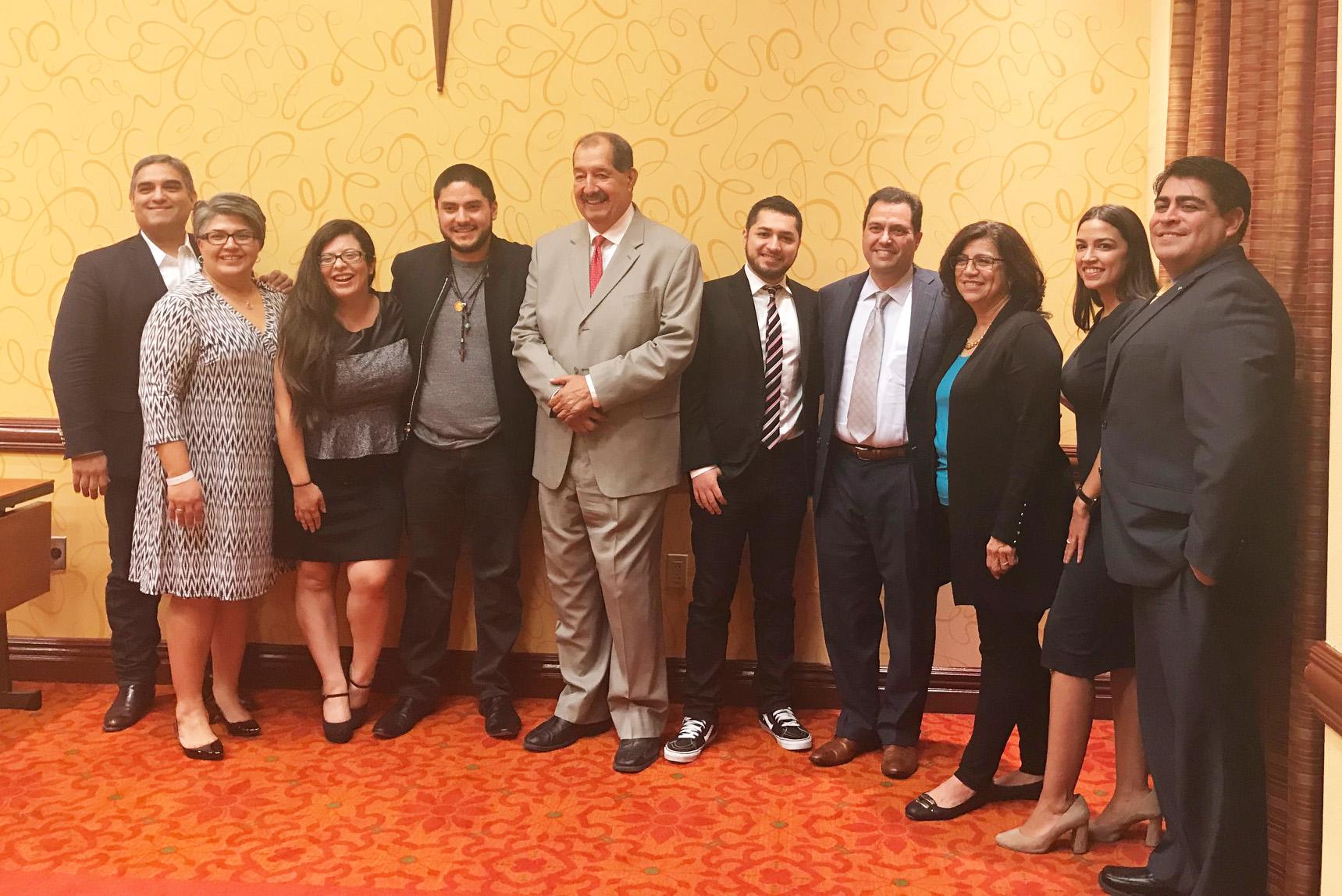 The Future of Latinos in Politics Panel, part of the Nieto-de Leon lecture series, at Celebracion 2017