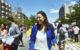 Alexandria Ocasio-Cortez campaigning