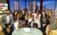 Periko y Jessi, the DishLATINO team, and NHI's Zachary Gonzalez at Fox 7's studios
