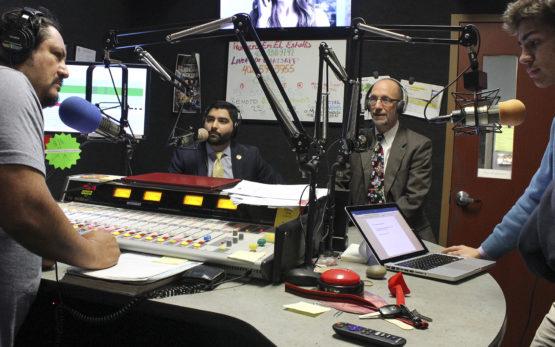 Zachary Gonzalez and Jim Swanson appear on Radio Lobo