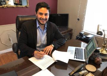 Arthur D. Soto-Vasquez, named to TAMIU's Fall 2018 faculty
