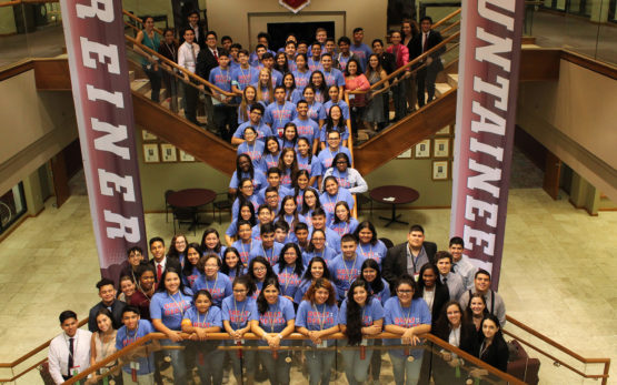 2018 Texas Star Great Debate Students at Schreiner University
