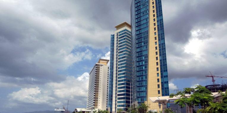 Port of Spain skyline