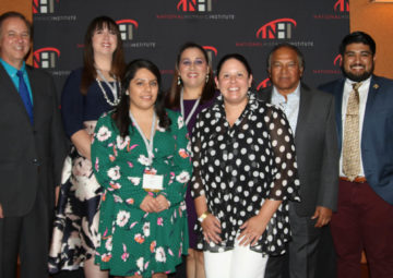 2018 NHI Award Winners at this year's Celebracion event.