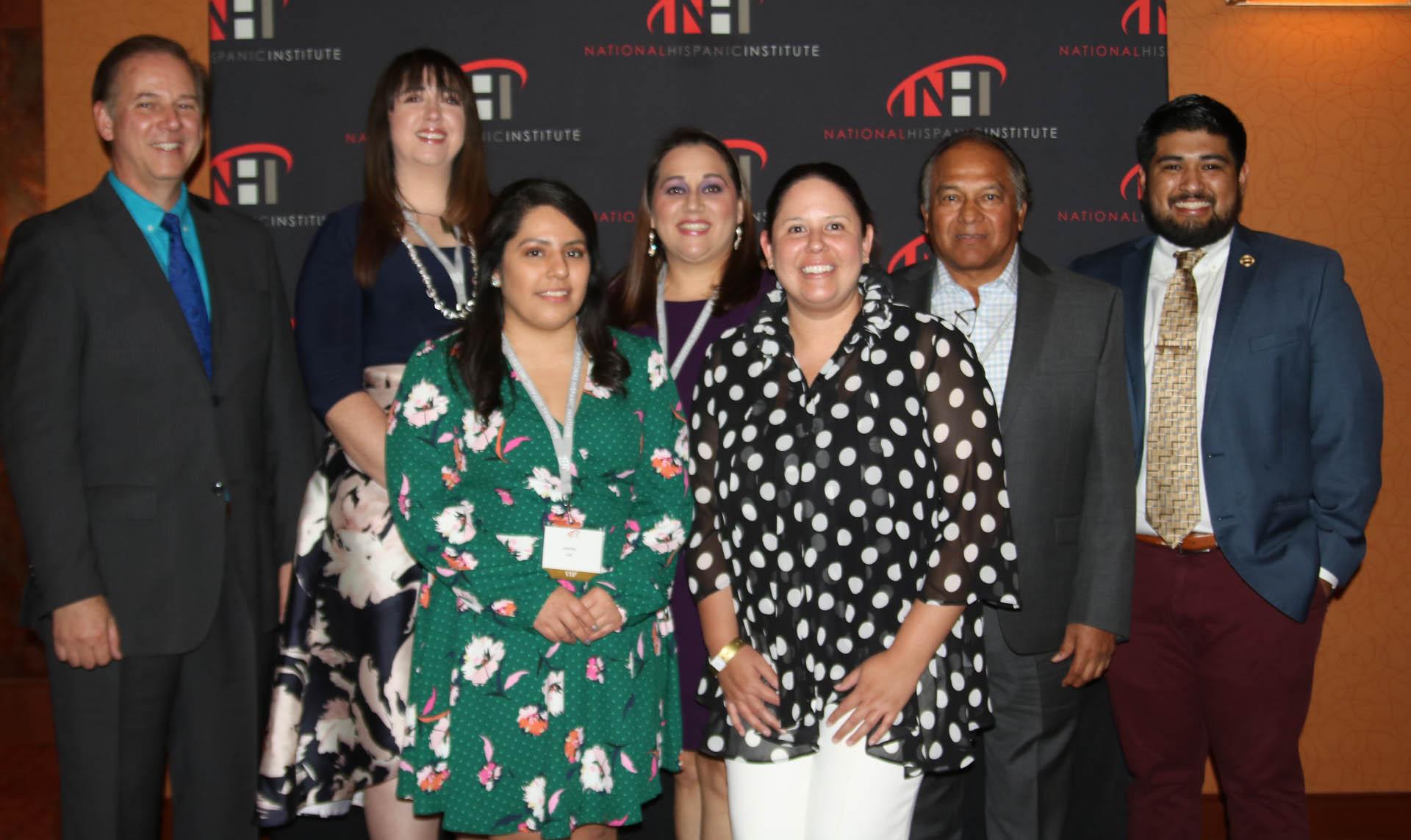 2018 NHI Award Winners at this year's Celebracion event.