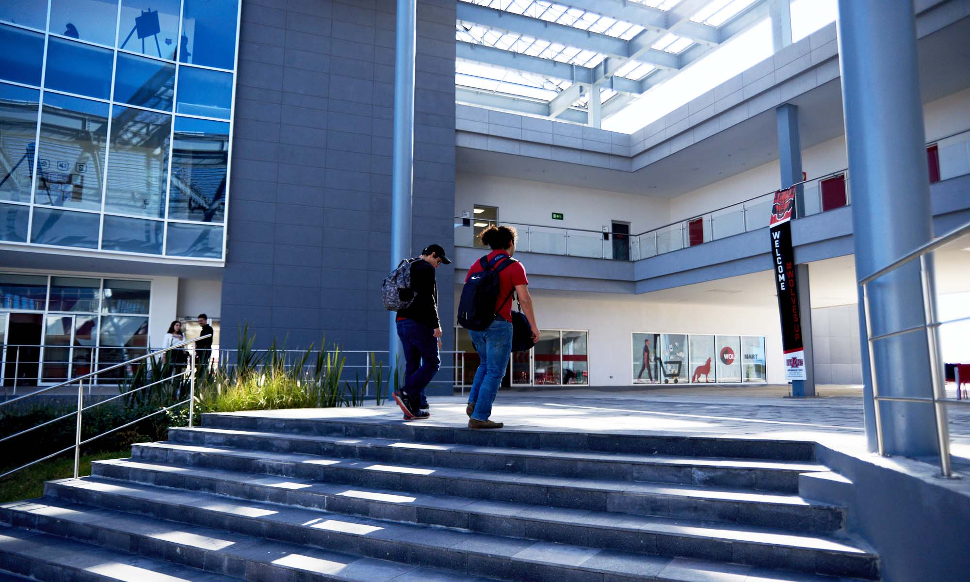Students at Arkansas State-Campus Queretaro