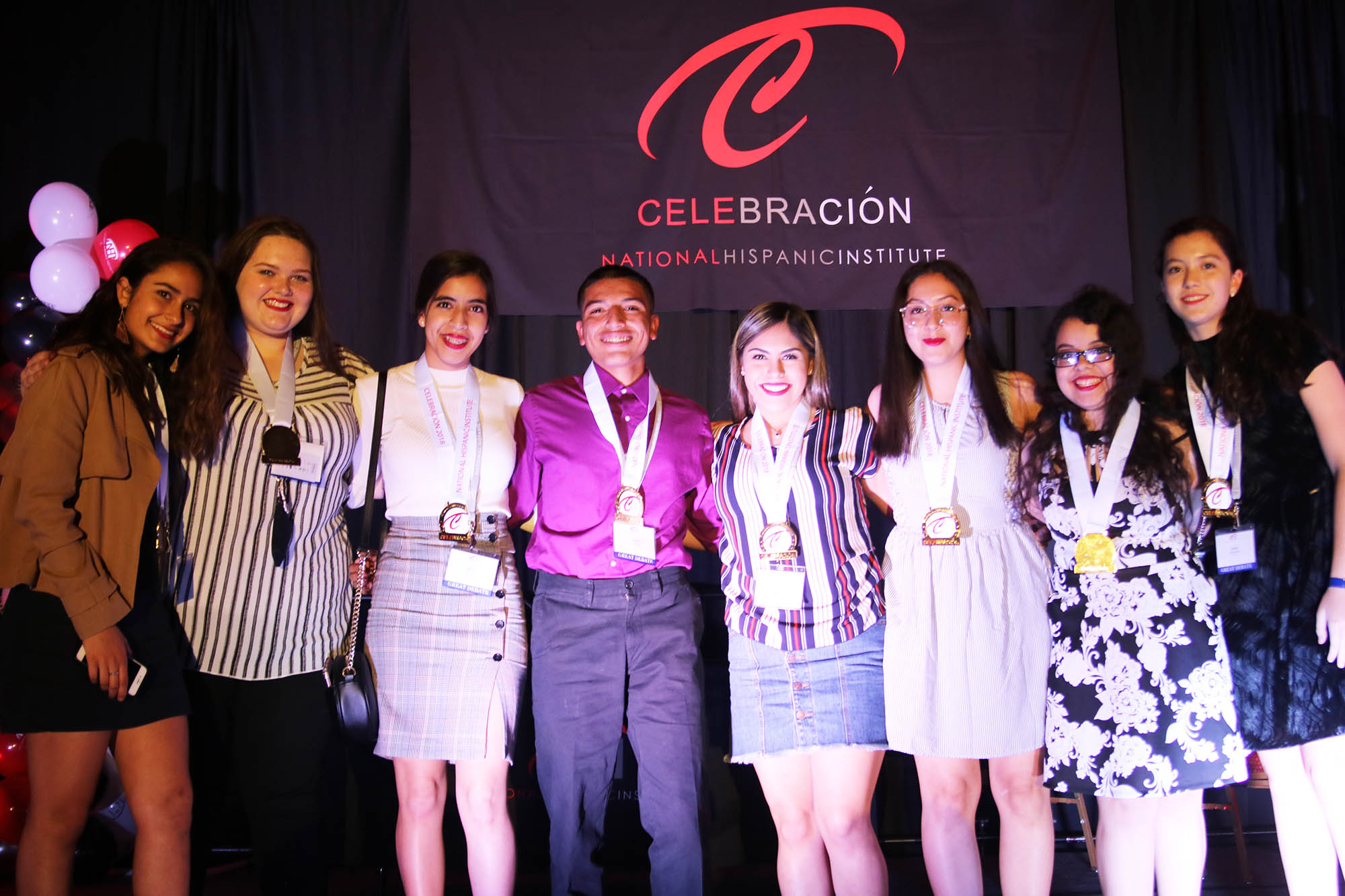 La Revolucion, first place Great Debate cohort team at the 2018 Celebracion event.