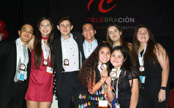 The winning Roots team from the CWS cohort at Celebracion 2018