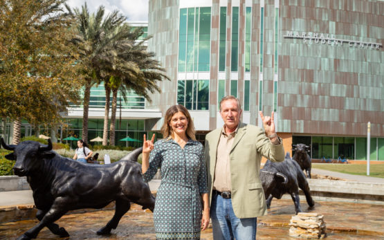 Nicole Nieto, Executive Vice President of the National Hispanic Institute, and Dr. Glen Besterfield, Dean Of Admissions and Associate Vice President, Student Success and Student Affairs at University of South Florida