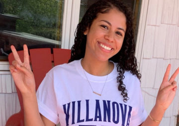 Gabi De Simone, NHI alumna and new Villanova student