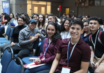 Students at the 2018 Northeast CWS program at Cabrini University