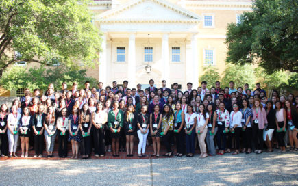2019 Texas CWS students National Hispanic Institute NHI University of North Texas