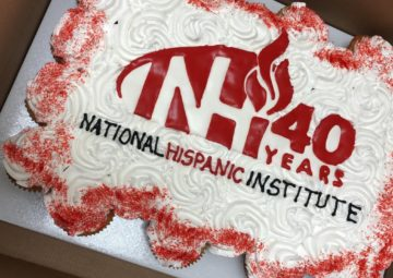 NHI national hispanic institute 40 years 40th birthday NHI's 40th anniversary