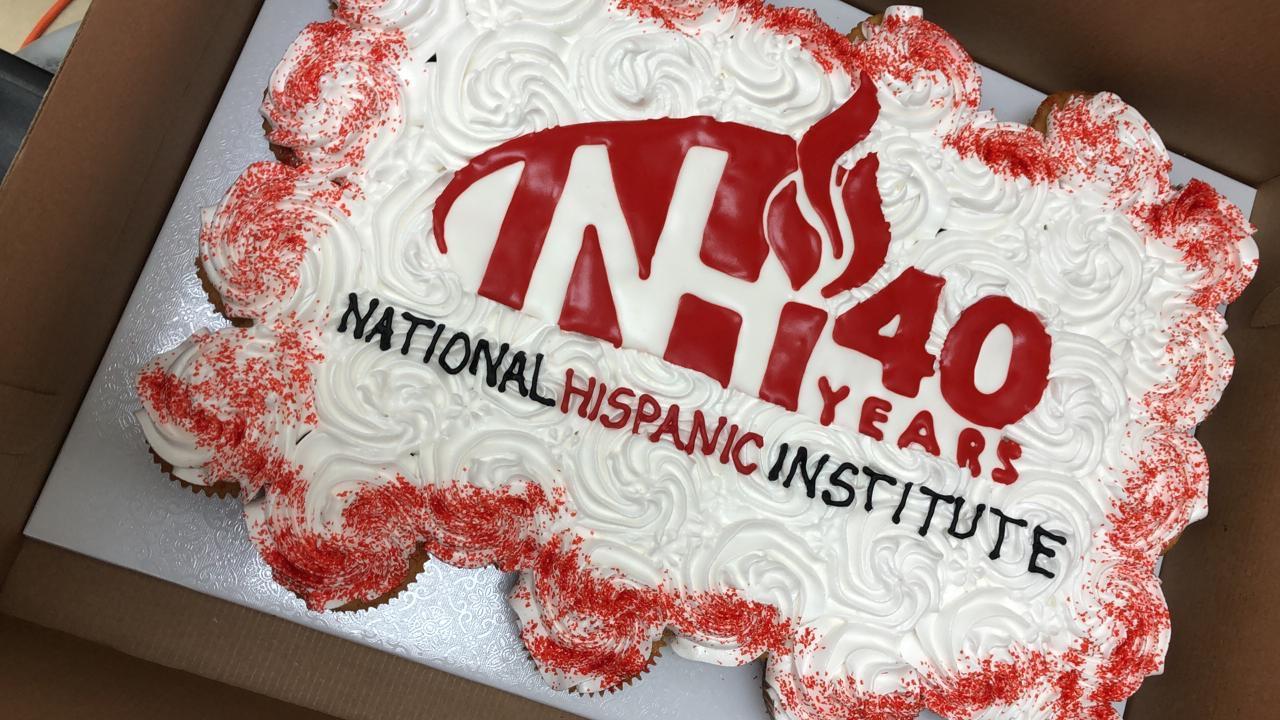 NHI national hispanic institute 40 years 40th birthday NHI's 40th anniversary