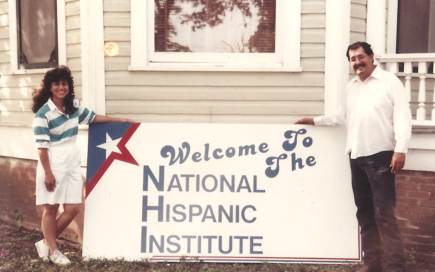 nhi national hispanic institute 40 years headquarters historic photo