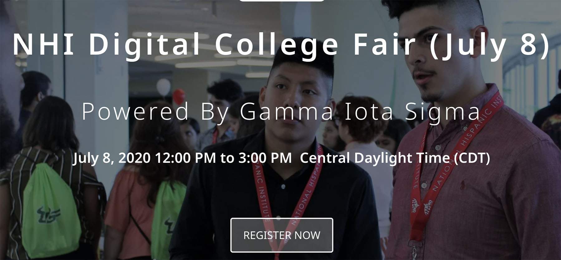 NHI Digital College Fair